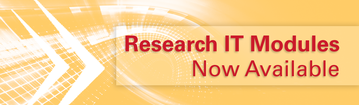 Research IT Modules now available
